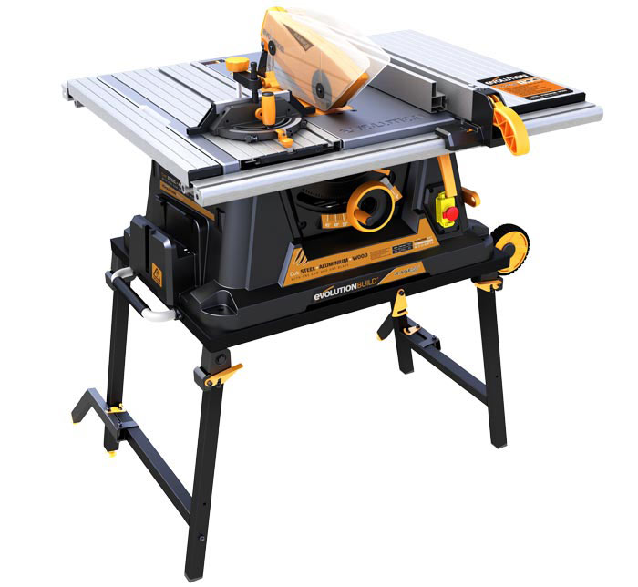 Evolution rage5 255mm multipurpose table saw 110v for 110v table saw