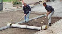 Block Paving Screeding Tools, Gutter Fix, Mini Screeds, Screeding Machines, Screed Rails, Screed Rail Sets, Screeding Systems, Teleplan Screeds, Probst, Trade, Industrial, Block, Stone, Equipment