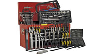 Tool Chests complete with Tools, Top Chests with Tools, Topchests, Add-On Chests, Rollcabs, Roll Cabinets, Combination Tool Chests, with tools
