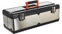 Toolboxes, 410mm to 660mm, cantilever, integral composite tote trays, Composite, Steel & Stainless Steel