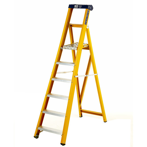 BRATTS LADDERS Glass Fibre Platform Steps