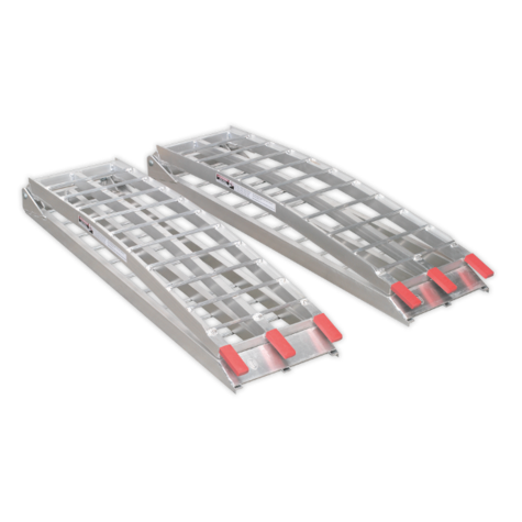Loading Ramps Sealey LR680 340kg Aluminium