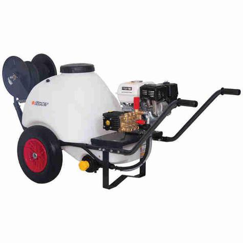 Pressure Washer with Wheelbarrow Tank 150bar