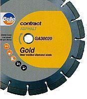 Belle Gold Diamond Saw Blade 350mm x 25mm for Asphalt
