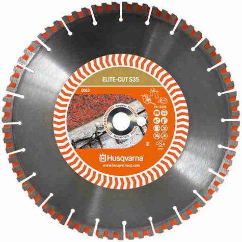Extra Hard Material Diamond Blade Husqvarna Elite-Cut S35 350mm