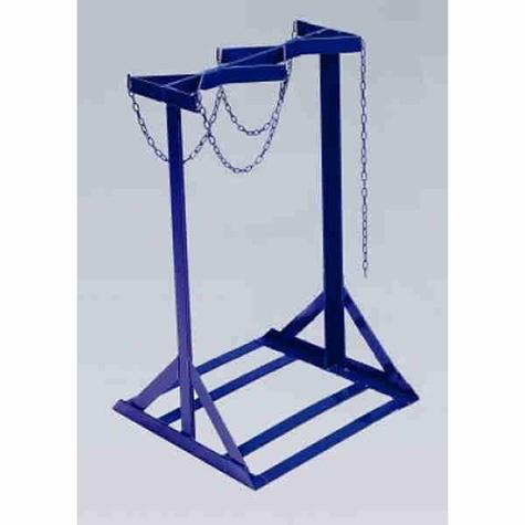 Gas Cylinder Stand-4 Large Bottle Double Sided CYRD04