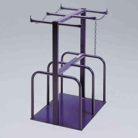 Gas Cylinder Stand-4 Bottle Free Standing CYS400
