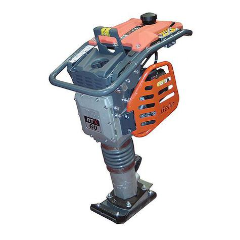 Trench Rammer Belle RTX60 Honda Petrol 165mm Foot