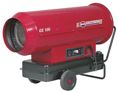 Space Heater Arcotherm GE105 Direct Oil-Fired 380KBTU/Hour