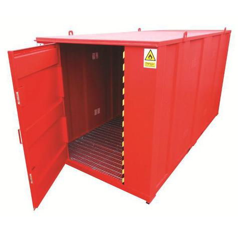 Flammable Material Storage Unit Armorgard FS4.0 FlamStor 2000 x 4000 x 2100