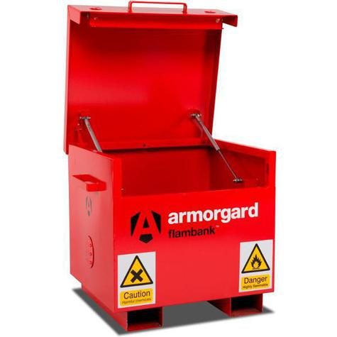 Flame Site  Box Armorgard FB21 Flambank 765mm x 675mm x 670mm