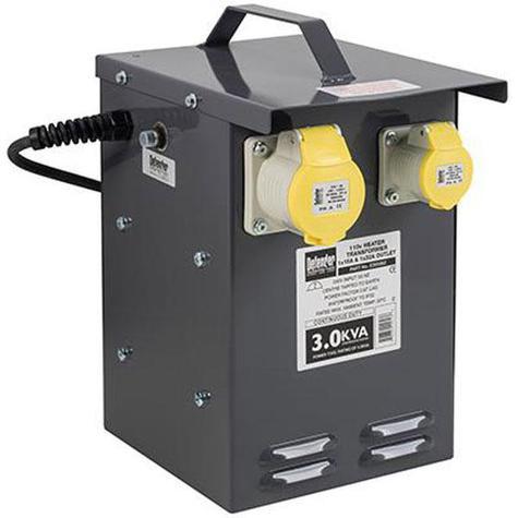 Defender 3kVA Heater Transformer 110V
