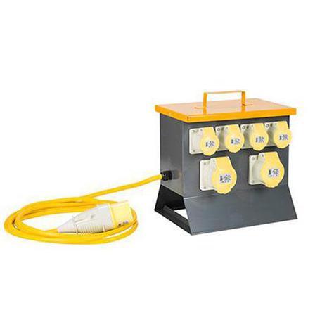 Splitter Box 2-Way 32amp 110v E13111 Defender Distribution Unit