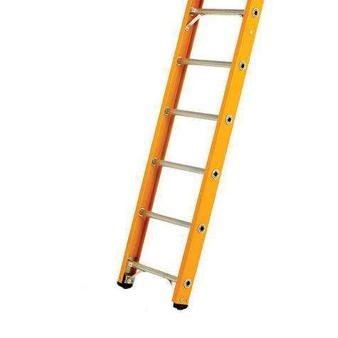 Bratts AFL14 Fibreglass Single Ladder 3.55m/Glass Fibre Rungs