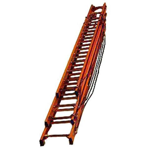 Bratts AFTR09 2.55m Rope Fibreglass Triple Ladder / Glassfibre Rungs