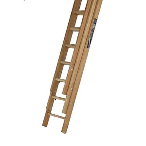 Bratts HDT18R Class 1 Timber Triple Ladder Rope Operated 5.41m