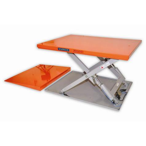 Lift Table Warrior WRSLPFT10 Low Profile Full Top 1000kg