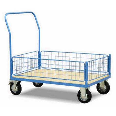 Warrior WRZ50H Mesh Trolley with 4 small sides 1200mm x 800mm