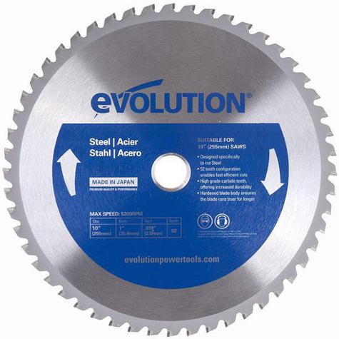 Evolution 255mm Steel Cutting Blade Express Tools Ltd