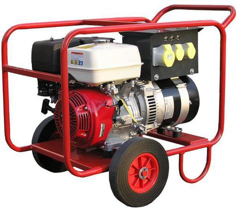 Generator 4.4 Kva Petrol with Wheels & Long Run Tank