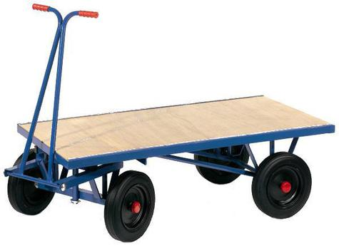 HD Turntable Truck 1220mm x 610mm  & Pneumatic Wheel TSK100NP