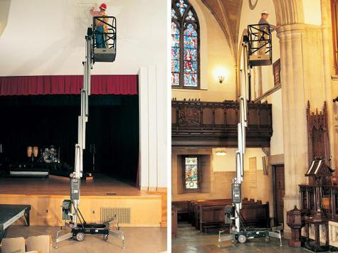 JLG Accessmaster 20AM Push-Around Personnel Lift