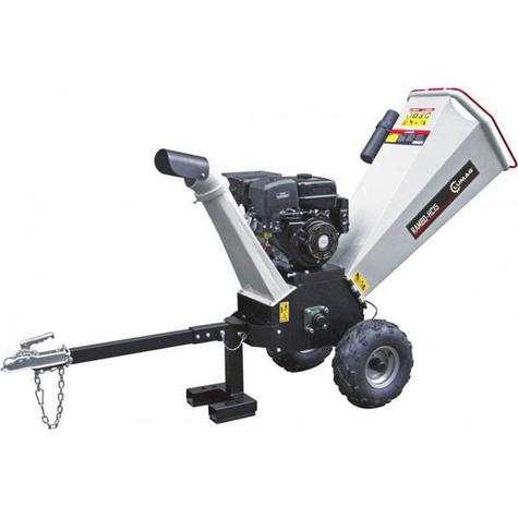 Wood Chipper Lumag HC15 120mm Petrol With Electric Start