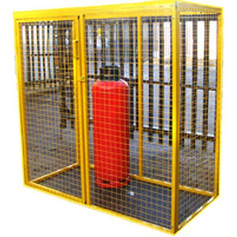 Safesite SSL181212 Gas Cylinder Storage Cage 1800 x 1200 x 1200