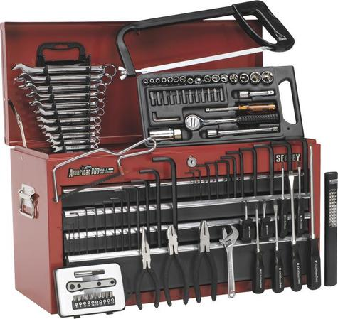 Tool Chest Sealey AP2201BBCOMBO Topchest c/w 99pc Tool Kit