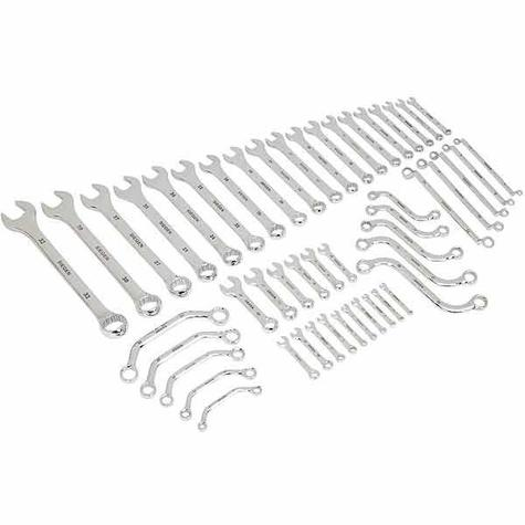 Spanner Set Sealey S0565 Multi-Purpose 50pc Metric