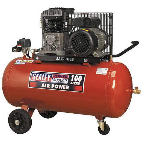 Compressor Sealey SAC1103B 100ltr Belt Drive