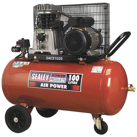Compressor Sealey SAC2103B 100ltr Belt Drive