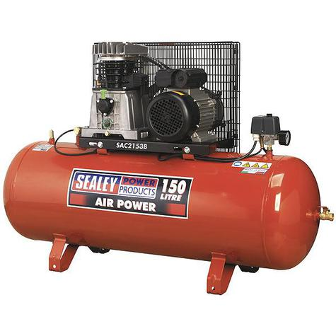 Compressor Sealey SAC2153B 150ltr Belt Drive