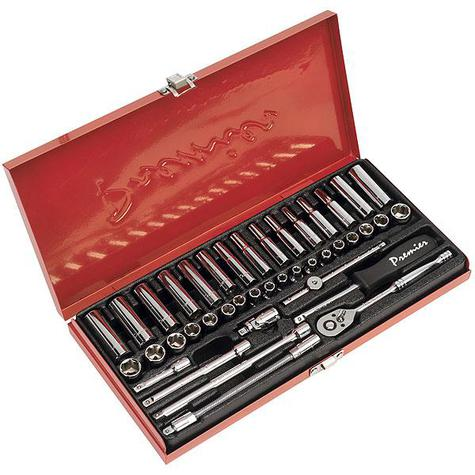 "Socket Set 41pc Sealey AK690 1/4""Sq Drive"