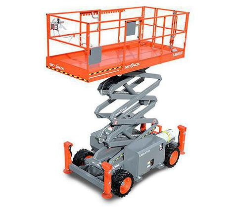 SkyJack 6826RT Rough Terrain Diesel Scissor Lift