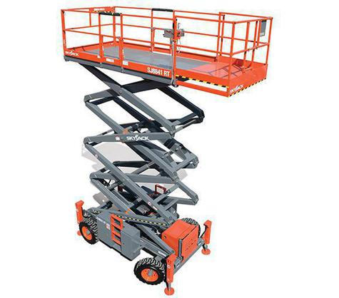 SkyJack 9233RT Rough Terrain Diesel Scissor Lift