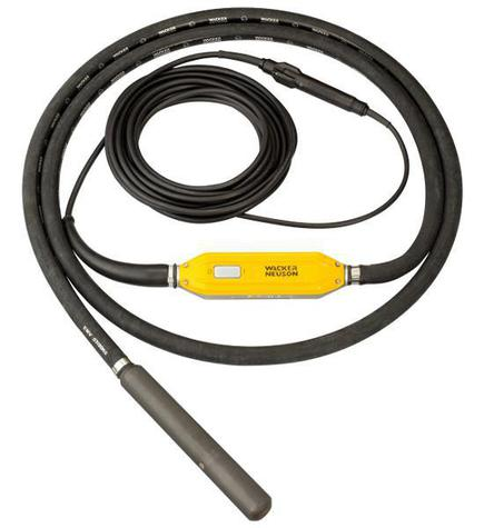 Wacker  Neuson IRFU 57 GV Inverter Poker + Rubber Nose Cap