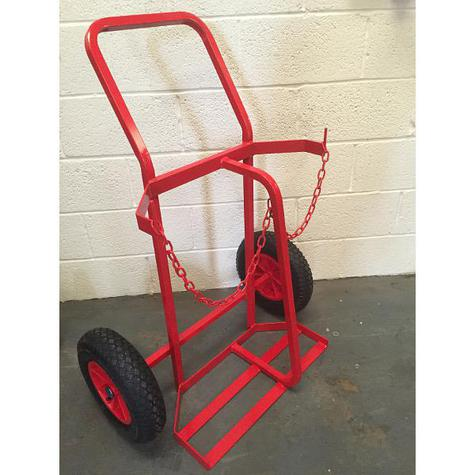 Cylinder Trolley KBS07 Twin Plus Superior for 2 X Oxygen OR Propane