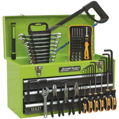 Tool Chest Sealey AP9243BBHVCOM 3 Drawer & 93pc Tool Kit
