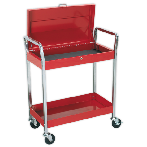 Trolley Sealey CX104 2-Level + Lockable Top