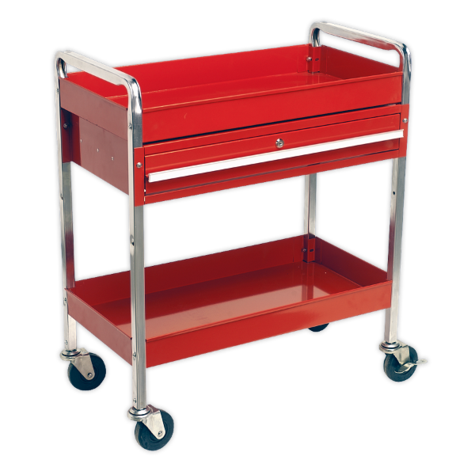 Trolley Sealey CX101D 2-Level with Drawer