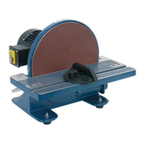 Disc Sander Sealey SM31 305mm Bench