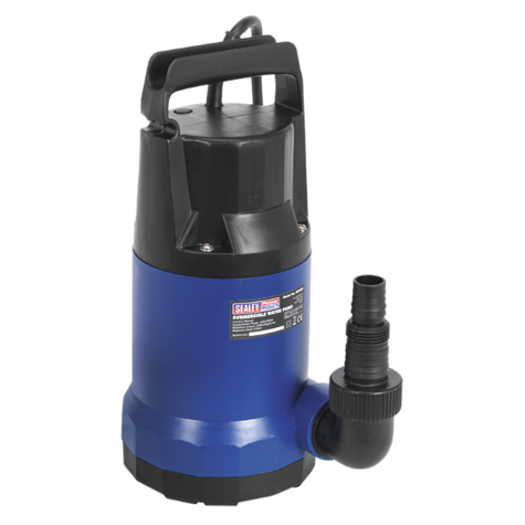 Submersible Water Pump Sealey WPC250 250ltr/min 230V