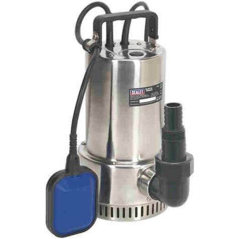 Submersible  Pump Sealey WPS250A Stainless Automatic 250ltr/min 230V