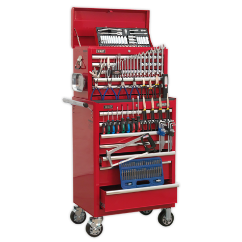 Tool Chest Sealey APCOMBOBBTK57 Tool Chest c/w 146pc Tools