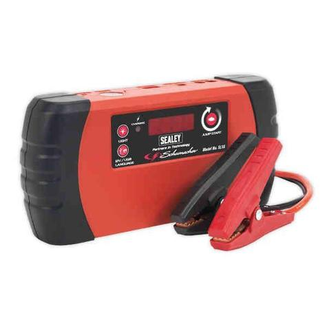 Jump Starter Sealey SL1S Power Pack Lithium(LiFePO4) 400A
