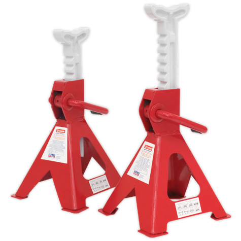 Axle Stands Sealey VS2002 Ratchet Type 2tonne