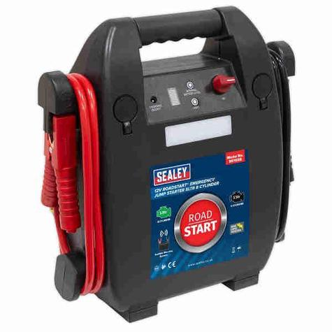 Emergency Jump Starter Sealey RS103B RoadStart® 12V 5ltr 8 Cylinder