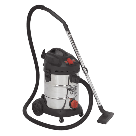 Vacuum Cleaner Sealey PC300SDAUTO 30ltr 1400W