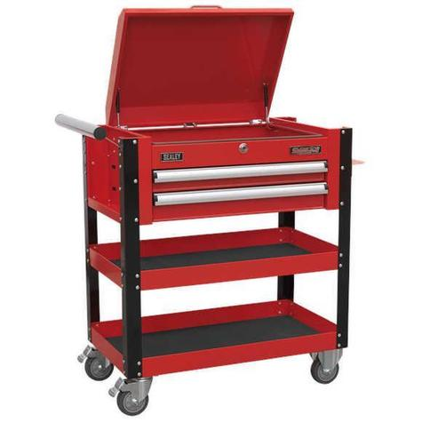 Mobile Tool & Parts Trolley Sealey AP760M Heavy-Duty